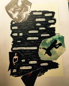 Blackout Poetry Lon Kuub 2018
