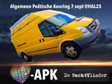 Algemeen Poëtische Keuring in Hal25 ism Kees Verdonk
